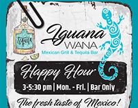Iguana Wana Mexican Grill Ads