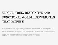 Nectar WordPress Theme Home-Page Screenshot