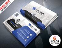 Free PSD : Business Cards Design PSD Bundle