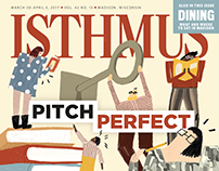 Isthmus Madison cover
