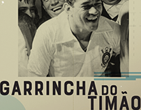 """Garrincha do Timão"", documentary, Graphic Pack"