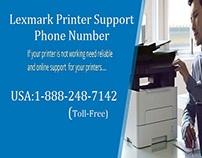 Lexmark Printer Support Phone Number 1-888-248-7142
