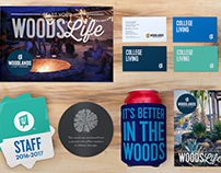 Woodlands Student Apartment Branding