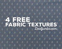 4 Free Fabric Textures