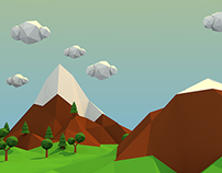Low Poly World Blender