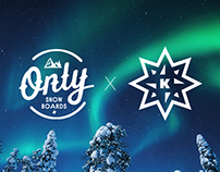 ONLY Snowboards x Kenny Kid