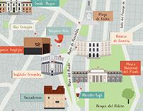 Mapa Madrid.