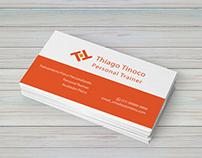 Cartão de Visita - Personal Trainer