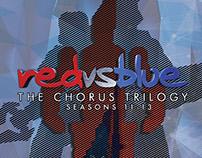 Red Vs Blue: the Chorus Trilogy Seasons 11-13 Steelbook