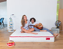 Shooting for Sleepwell, Swiss Bedding Shop