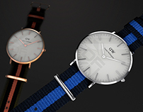 Daniel Wellington watch - C4D