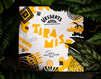 Vesserts - Identity & packaging for vegan desserts