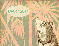 diaries and postcards