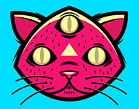Apocatlipgif (gifs of creepy cats)