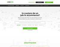 eComJobs - Website Redesign