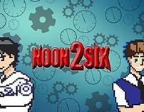 Noon2Six YouTube Title Screen