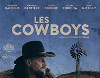 """Les cowboys"" / fan art poster"