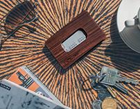 hölzer wood wallet