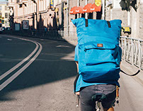 Rolltop Backpack | Velotton Big Johnny