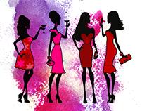 Champagne Les Femmes!