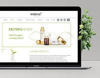 Sesderma.pl webdesign