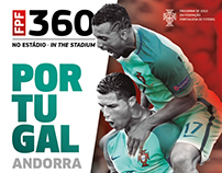 FPF . Portugal-Andorra . Official Match Programme