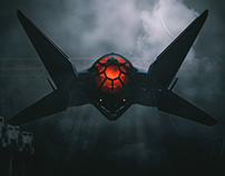 Tie-X / Tie Fighter Design Study