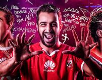 Ahly SC Handball Team - Celebration