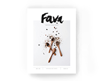 FAVA magazine | Editorial, Typography
