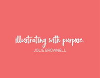 Graphic Illustrations/Designs By Jolie Brownell