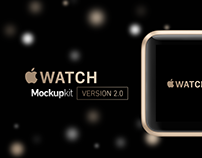 Apple Watch Mockup kit v2