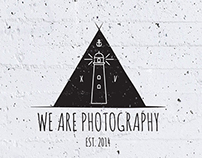 We Are Photography               //  L O G O
