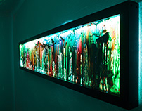 Glass Wall Art - 2016 Collection by Craig Anthony