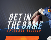 Get In The Game, Custom Email Template