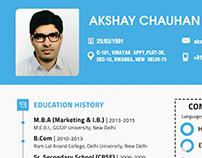 Creative Resume designing