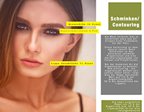 Schminken, Contouring und Augenbrauenpflege