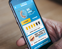 Greggs App and Web Redesign Pitch Work