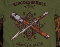 T-shirts for fans of military archeology