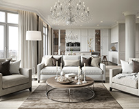 Apartment in the style of light classics