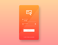 Simple Login Interface