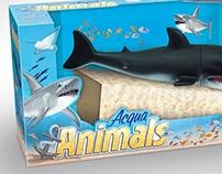 Criação da Embalagem do Brinquedo Acqua Animals