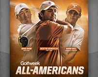 Texas Men's Golf All-Americans