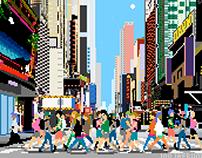 IDEAL CITY / Pixel Art