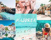 Free Majorca Mobile & Desktop Lightroom Presets