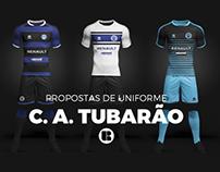 SOCCER KIT // Clube Atlético Tubarão