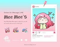 Mee Mee's - Sticker Pack