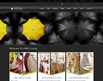 Website Template (Black Theme)