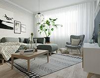 Project Simonyi -Scandinavian styled panel flat at Bp