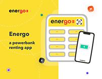 Powerbank Rental App | Design and Development