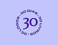 30 days, 30 books, 30 logos